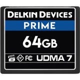Delkin Devices 64GB Prime CF 1050x Memory Card