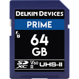 Delkin Devices 64GB UHS-II 1900X Memory Card