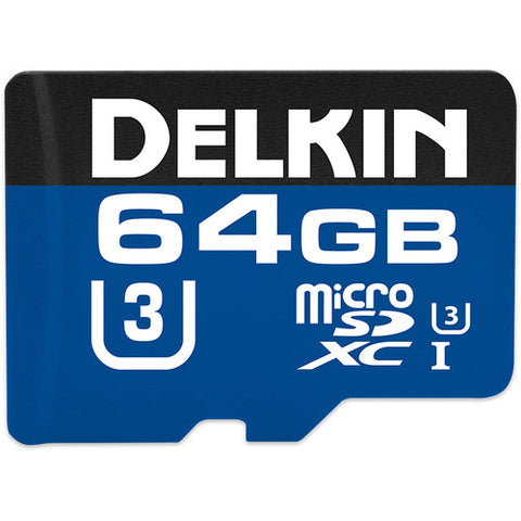Delkin Devices 64GB 660x microSDXC UHS-I Memory Card