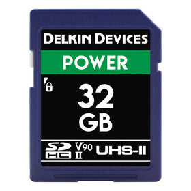 Delkin Devices 32GB UHS-II 2000X Memory Card
