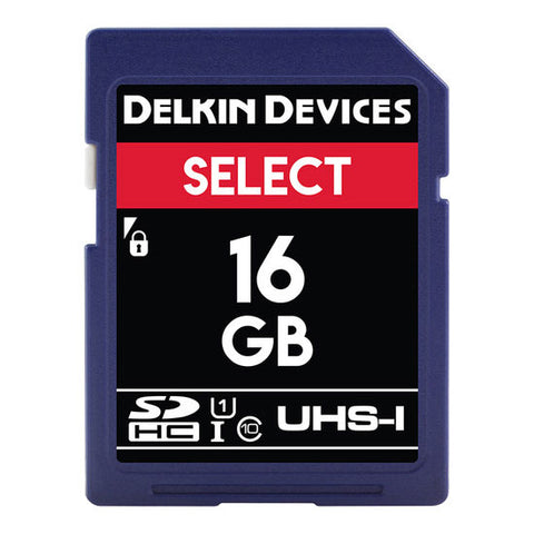 Delkin Devices 16GB UHS-1 163X Memory Card
