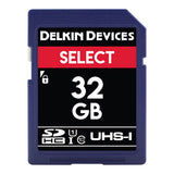 Delkin Devices 32GB SD UHS-I 163X Memory Card