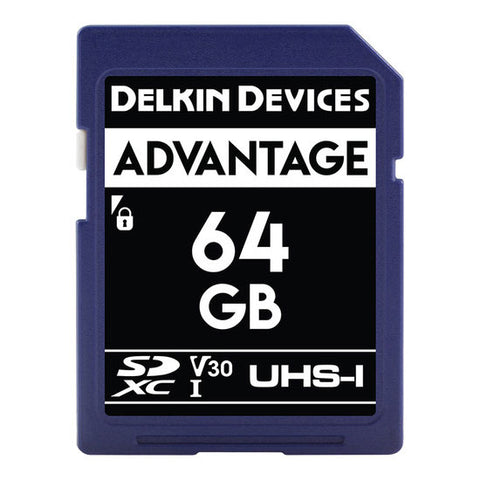 Delkin Devices 64GB  Advantage UHS-I 633xMemory Card