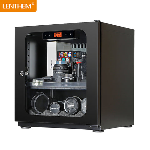 LENTHEM DT 60D Dehumidifying dry cabinet (with LCD Display)