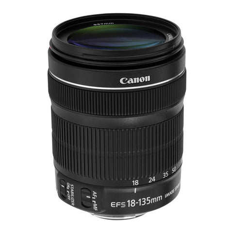 Canon EF-S 18-135 F/3.5-5.6 IS STM Lens