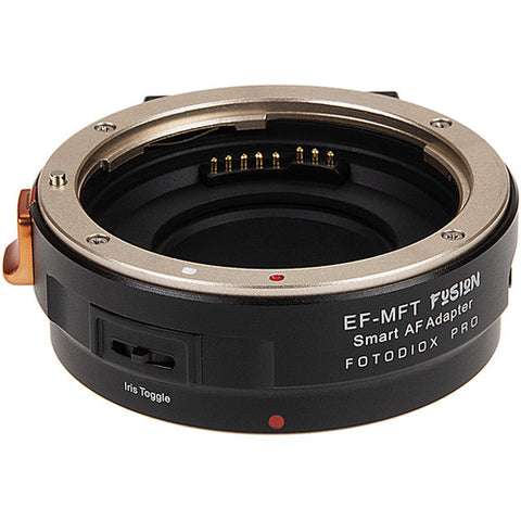 FotodioX Pro Fusion Smart AF Adapter for Canon EF Lens to Micro Four Thirds
