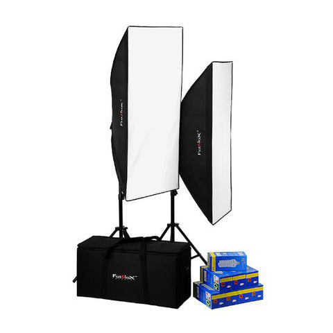 Fotodiox Pro CFL 50120 Compact Studio Fluorescent Lighting Kit