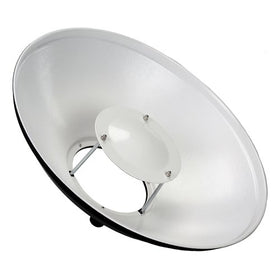 "Fotodiox Pro Beauty Dish 16"" with Speedring"