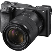 Sony Alpha a 6300 Mirrorless Digital Camera with 18-135mm Lens (Black)