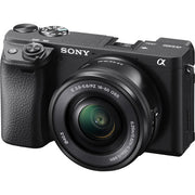 Sony Alpha a 6400 Mirrorless Digital Camera with 16-50mm Lens