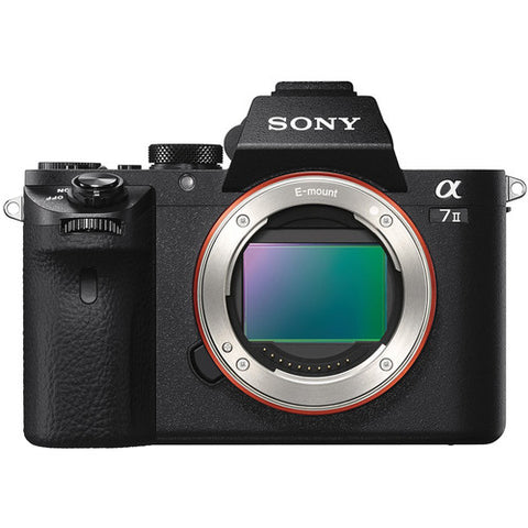 Sony Alpha a 7II Mirrorless Digital Camera (Body)