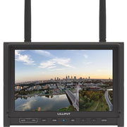 "Lilliput 339/DW 7"" Wireless FPV IPS Monitor with Dual 5.8 GHz Receivers (Black)"