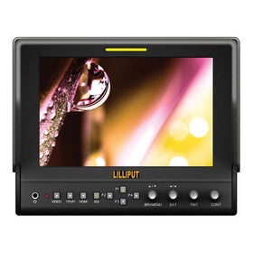 "Lilliput 663/O/P2 7"" LCD On-Camera HDMI Monitor"