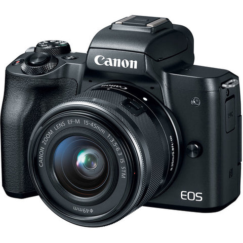 Canon EOS M50 Mirrorless with 15-45mm Lens