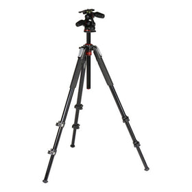 Manfrotto 055 Aluminum Tripod with 3-Way Head