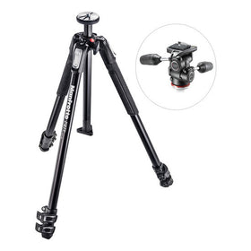 Manfrotto MK190X3 Tripod with 804 MK II 3-Way Pan/Tilt Head