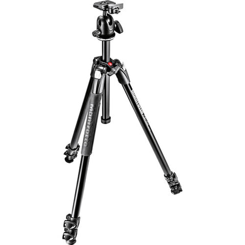 Manfrotto MK290XTA3-BH 290 Xtra Aluminum Tripod with Ball Head