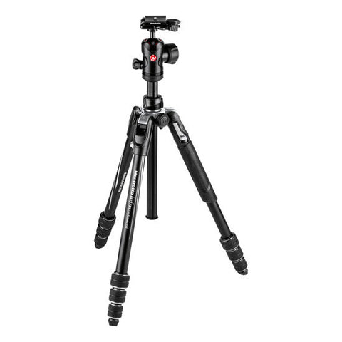 Manfrotto MKBFRTA4BK-BH Befree Aluminum Tripod (Twist Locks, Black)