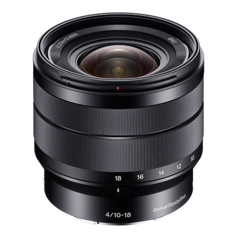 Sony E 10-18 mm f/4 OSS Lens