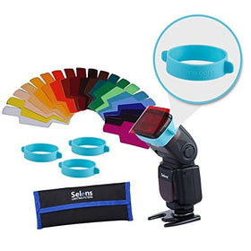Kit de Filtro de Iluminación de Gel para Flash