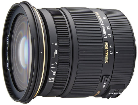 Sigma 17-50 mm f/2.8 EX DC for Canon