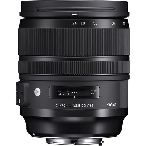 Sigma 24-70 mm f/2.8 DG OS HSM Art Lens for Canon