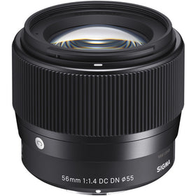 Sigma 56 mm f/1.4 DC DN Contemporary Lens for Sony E