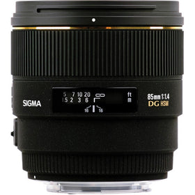 Sigma 85mm f/1.4 EX DG HSM For Nikon