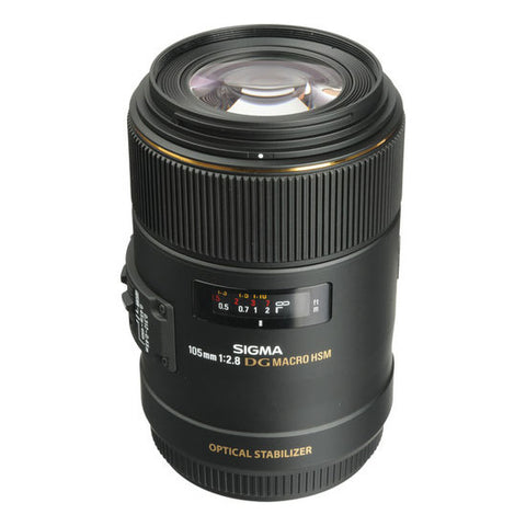 Sigma 105 mm f/2.8 EX DG OS HSM Macro Lens for Canon