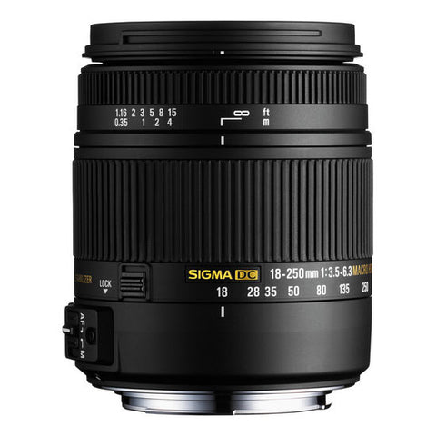 Sigma 18-250mm f/3.5-6.3 DC Lens for Nikon