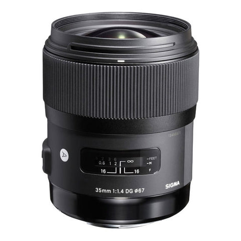 Sigma 35 mm f1.4 DG  for Nikon