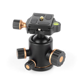 Ball Head 360 Degree Fluid Rotation Tripod