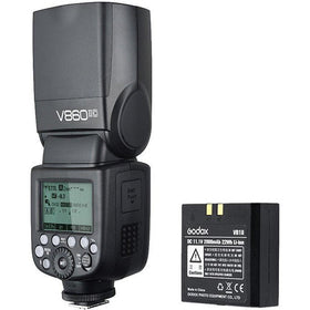 Godox V860 IIC TTL Li-Ion Flash Kit for Canon Cameras