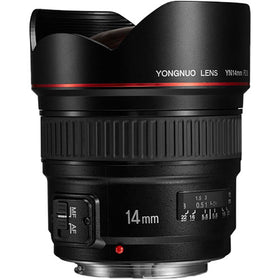 Yongnuo YN 14mm f/2.8 Lens for Canon