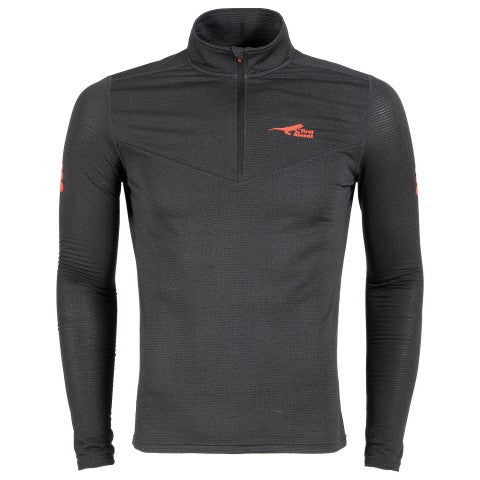 First Ascent - Men's X-Trail Grid 1/4 Zip Fleece Top