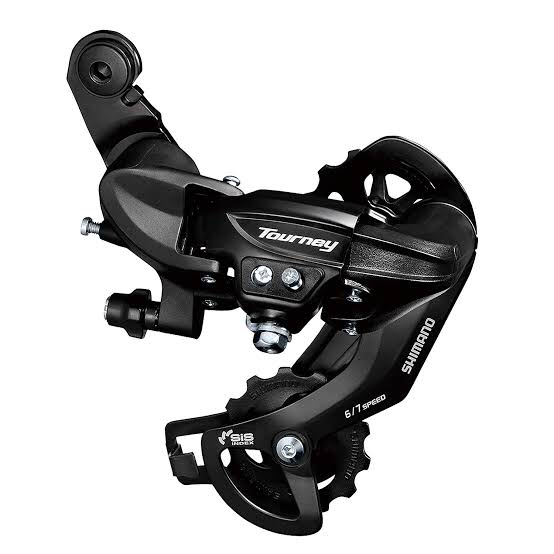 SHIMANO TOURNEY REAR DERAILLEUR 6/7SPD - TY-300 DIRECT ATTACHMENT