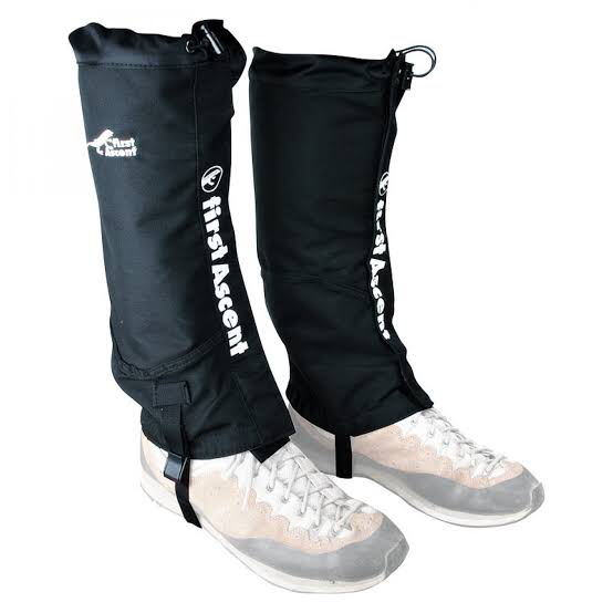 FIRST ASCENT GAITERS FULL LENGTH