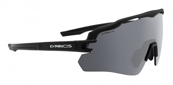 SUNGLASSES - DARCS VICE L-FLASH MIRROR F-MAT BLK