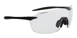 SUNGLASSES - DARCS EDGE R F-MATT BLACK - PHOTOCHROMIC