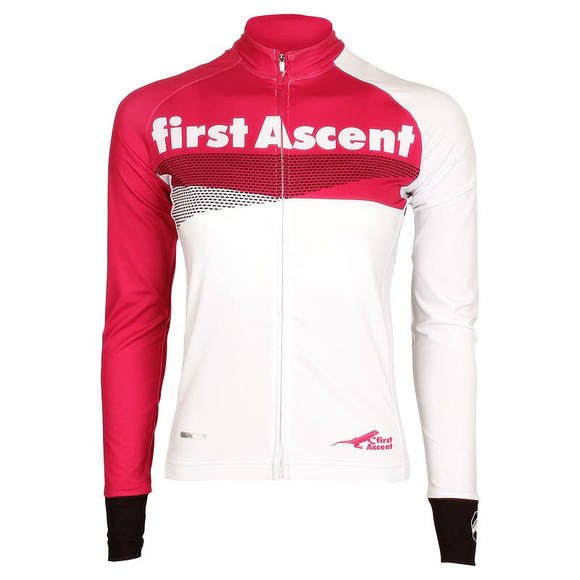 FIRST ASCENT LADIES BREAKAWAY LONG SLEEVE JERSEY