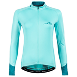FIRST ASCENT LADIES PODIUM LONG SLEEVE CYCLING JERSEY