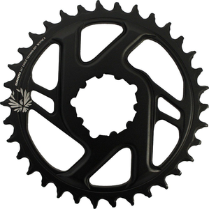 SRAM EAGLE X-SYNC DIRECT MOUNT 6MM OFFSET 34T CHAINRING BLK
