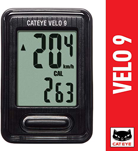 CATEYE VELO 9 WIRED COMPUTER BLACK