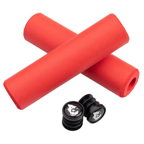 WOLF TOOTH GRIP SILICONE FATPAW RED 9.5MM