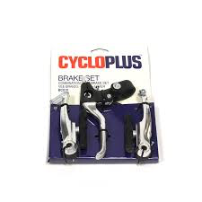 CYCLOPLUS BRAKE SET REAR NYLON V-BRAKE