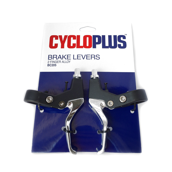 CYCLOPLUS - BRAKE LEVERS 2 FINGER ALLOY