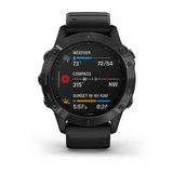 Garmin Fenix 6 Pro Black with Black Strap