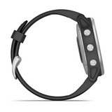 Garmin Fenix 6S Silver with Black Strap