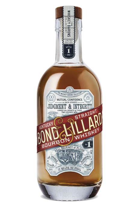 The Whiskey Barons Bond & Lillard Kentucky Bourbon 375ml