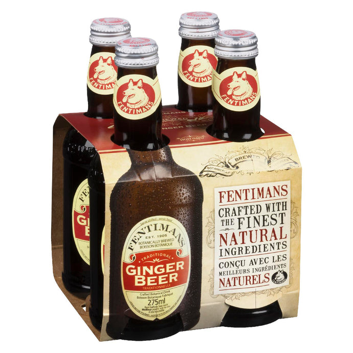 Fentiman's Ginger Beer 275ml x 4-Pack